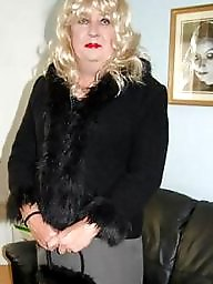 Mature aunty, Aunty, Sarah, Blond mature