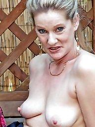 Granny, Mature big tits, Granny boobs