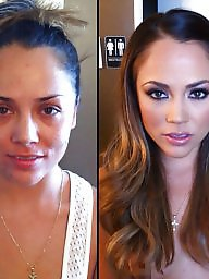 Before and after, Before after, Cartoons, Makeup, Cartoon, Before