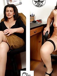 Milf dressed undressed, Mature dress, Undress, Dressed