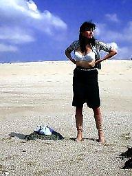 French milf, Milf beach, Beach milf, Public milf
