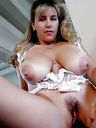 Wifey, Mature blonde, Mature spreading, Spreading, Big boobs, Mature spread