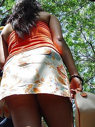 Indian ass, Indian upskirt, Indian, Upskirt hidden