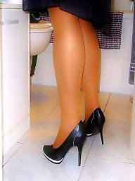 Amateur nylon, Pumping, Milf heels, Nylon, Heels, High heels