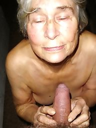 Mature ass, Granny, Granny ass, Granny blowjob