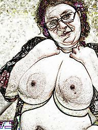 Cartoon, Bbw mature, Bbw cartoon, Cartoons