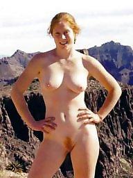 Redhead, Nude, Redheads, Public, Public nudity, Redhead amateur