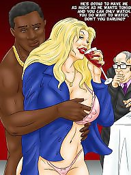 Femdom cartoon, Cuckold cartoon, Bbc, Cuckold
