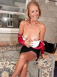 Mature, Mature stockings, Stockings