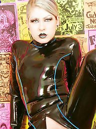 Latex, Leather, Spandex