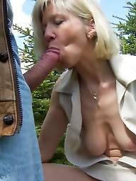 German milf, German amateur, Milf blowjob, German