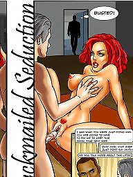Interracial cartoons, Interracial cartoon, Cartoon, Blackmail, Cartoons, Cartoon interracial