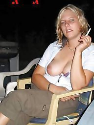 Flashing tits, Tits out, Beautiful milf, Tit out