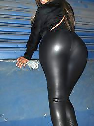 Spandex, Asian ass, Fetish, Spandex ass