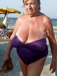 Granny, Granny beach, Grannies, Granny boobs, Beach granny