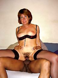 Shaved mature, Mature hairy, Shaved