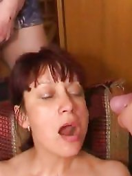 Russian milf, Old young