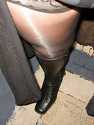 Nylons, Nylon, Black stockings