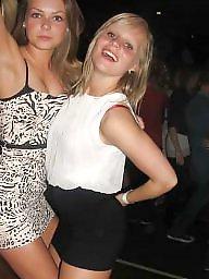 Braces, Party, Teen panties, Danish