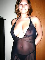 tops through tits in Mature see