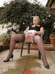 Granny stocking, Granny amateur, Mature stockings, Grannys, Granny stockings, Granny