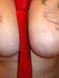 Tied tits, Big tits, Tied