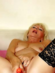 Mature old, Grandmother, Mature, Toys, Old, Dirty