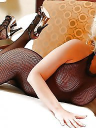 Stockings, Black, Bodystocking