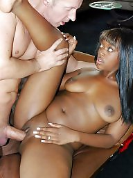Black girl, Ebony, Ebony interracial, Interracial