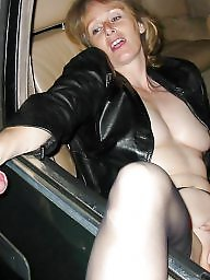 Mature public, Milf public, Car, Public fuck, Amateur mature, Parking