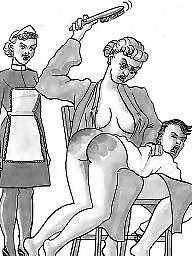 Femdom cartoon, Bdsm cartoons, Boys, Bdsm cartoon
