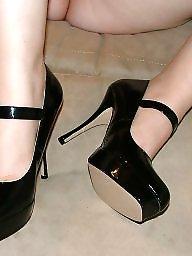 Heels, Boots, Ex wife, Milf boots, Milf heels, Redhead wife