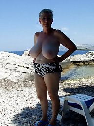 Beach with big at naked breasts moviestars