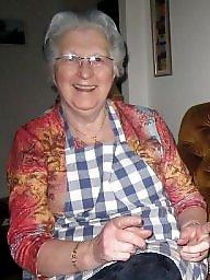 Mature upskirt, Grandma