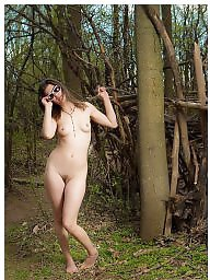 Public nude, Nude in public, Woods, Wood