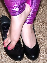 Heels, Pink, Leggins, Shoes