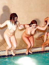 Naked, Party, Pool, Teen pool, Teen naked