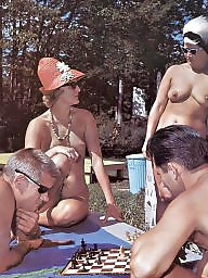 Vintage nudist, Hairy nudist, Nudists, Hairy, Hairy voyeur, Vintage