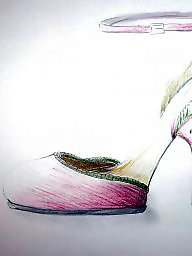 Shoes amateur, Shoe cartoons, Shoe, Designing, Amateure cartoon, Amateur shoes